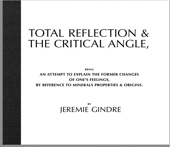 TOTAL REFLECTION & THE CRITICAL ANGLE.
