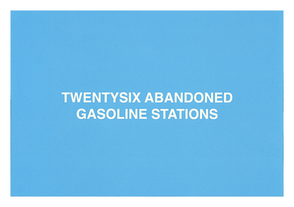 TWENTYSIX ABANDONED GASOLINE STATIONS