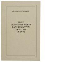 Liste des Suisses Morts dans le Canton du Valais en 1991