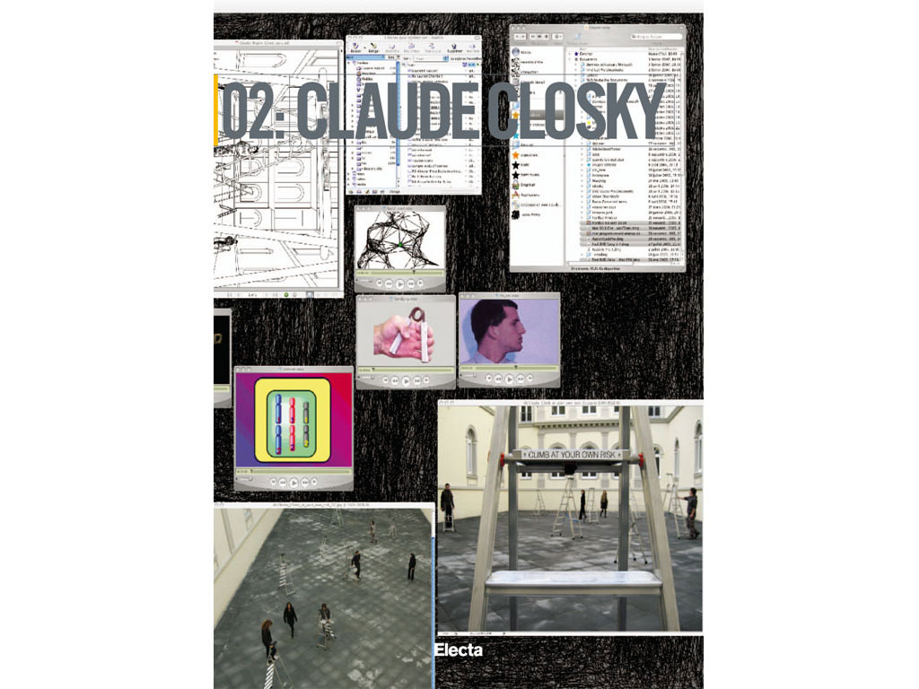 02 : Claude Closky. Climb at your own risk