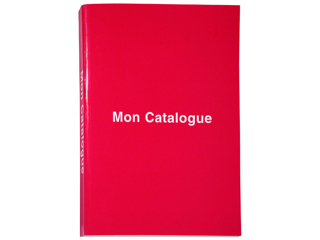 Mon catalogue