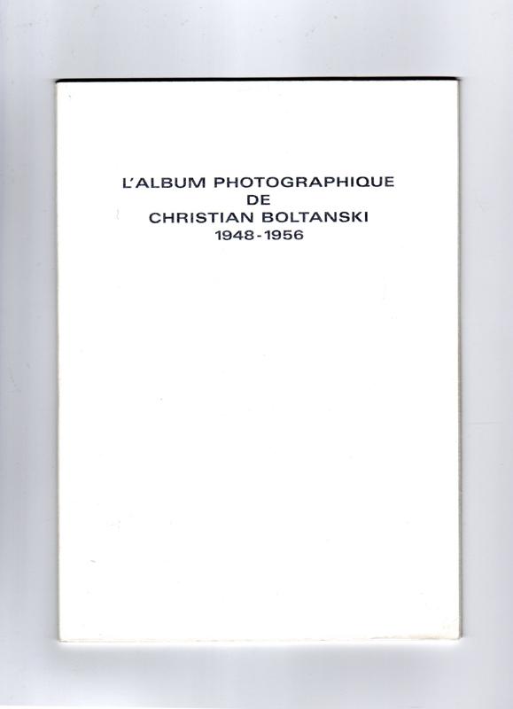 L'Album photographique de Christian Boltanski