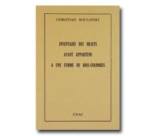 Inventaire des objets ayant appartenu a une femme de bois-colombe
