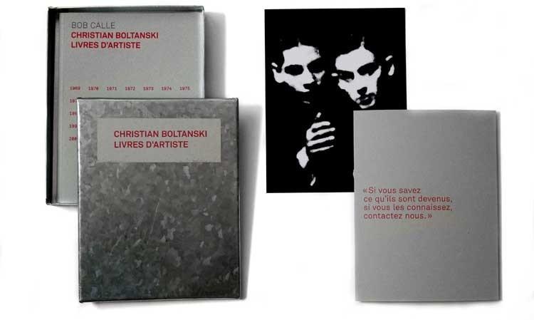 Christian Boltanski livres d'artiste (1969-2007)
