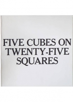 Five cubes on Twenty-Five Squares