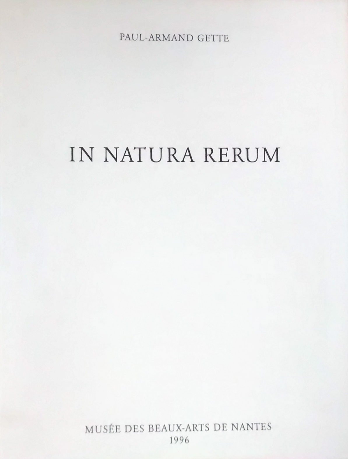 In Natura Rerum