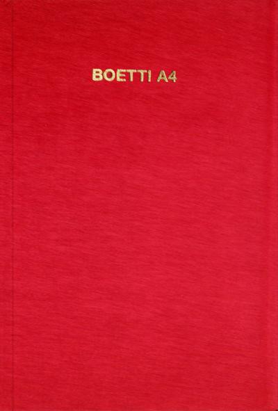 BOETTI A4