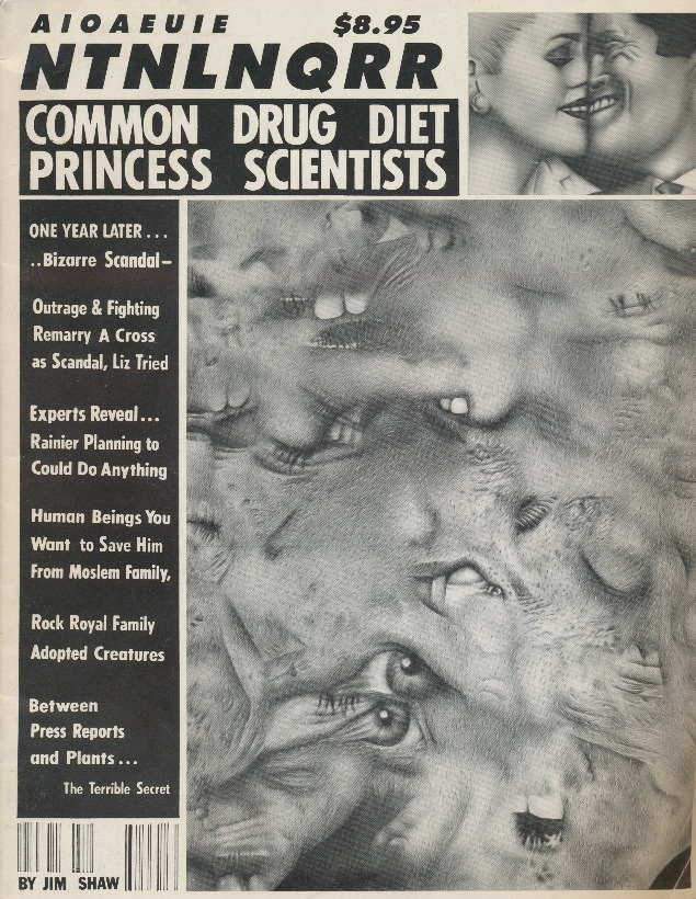 AIOAEUIE NTNLNQRR Common Drug Diet Princess Scientists [National Enquirer]