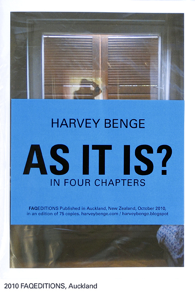 AS IT IS ? In four chapters