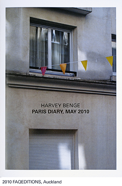 Paris diary, May 2010