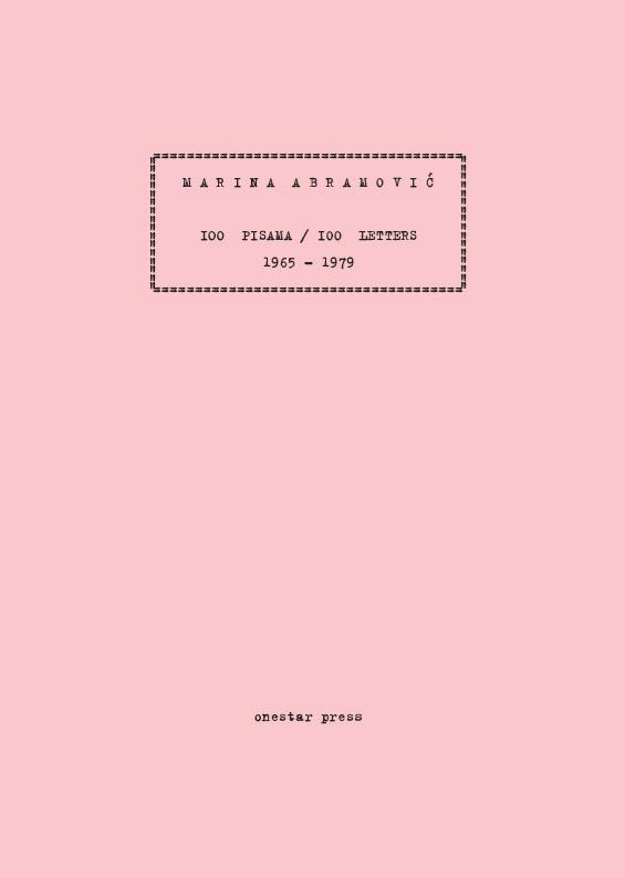 100 PISAMA / 100 LETTERS 1965-1979