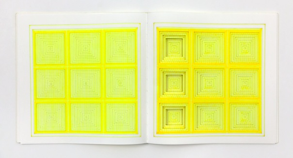 Yellow Diptych II