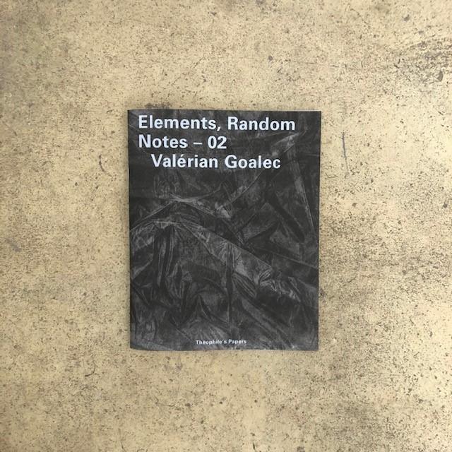 Elements, Random Notes – 02