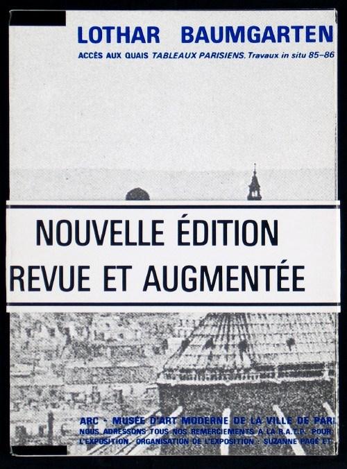 Accès aux quais. Tableaux parisiens, travaux in situ 85-86