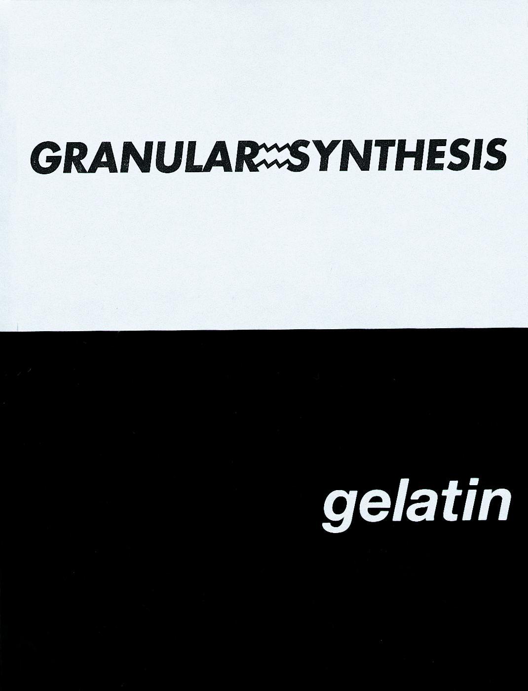 Granular=synthesis