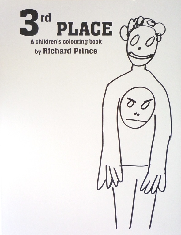 3rd place A children's colouring book by Richard Prince