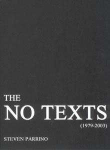 The No Texts (1979-2003)