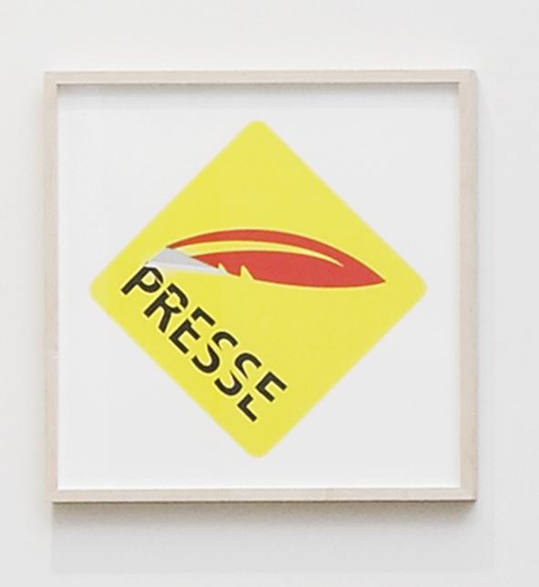 Cutter Press Sign