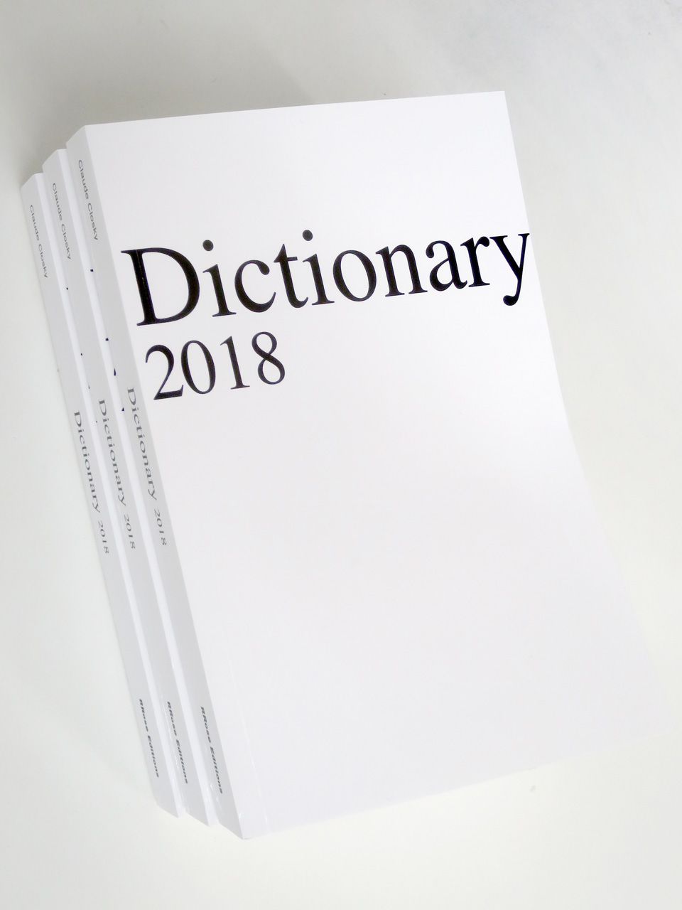 Dictionnary 2018