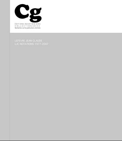 LJC Notations 1997-2007